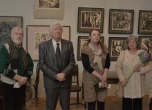 Открытие выставки З.Аршакуни
