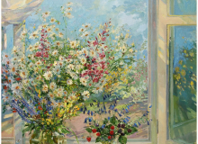 Вид из окна. 2001