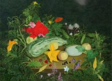 Кабачки, 55х70, 1997