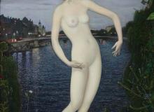 Париж, (Обнажённая), х., м., 70,5х50, 2004