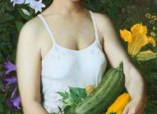 Сбор урожая, х., м., 100х50, 2004